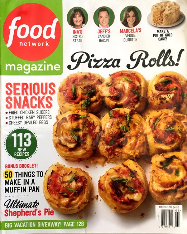Claudia sidoti food network magazine march 2016 food network magazine march 2016 forumfinder Choice Image