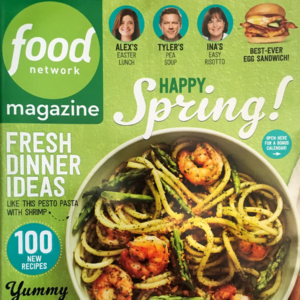 Claudia sidoti food network magazine april 2016 food network magazine april 2016 forumfinder Images